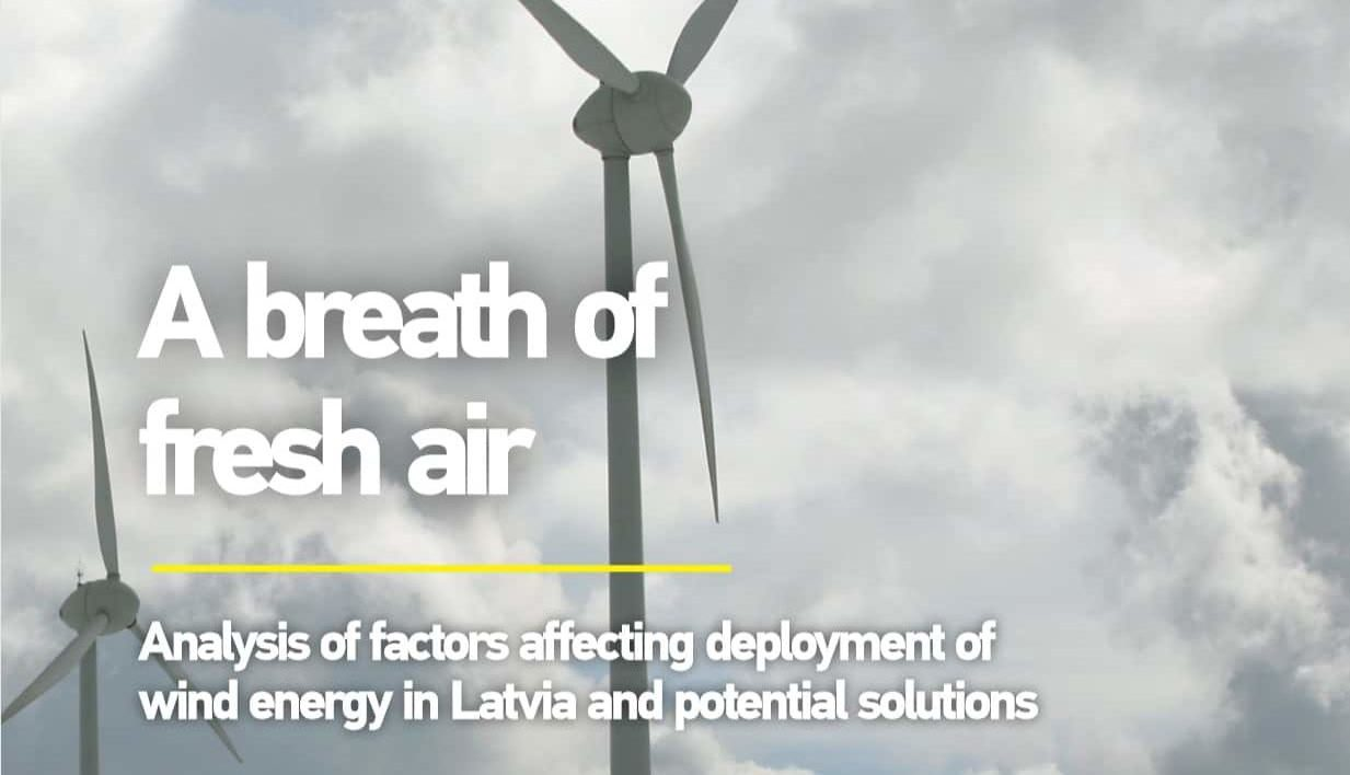 Analysis of factors affecting deployment of wind energy in Latvia and potential solutions