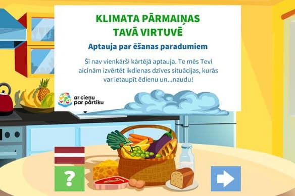 Klimata pārmaiņas tavā virtuvē